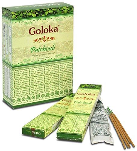 GOLOKA - Indisches Räucherstäbchen: Goloka Premium Patchouli 15g