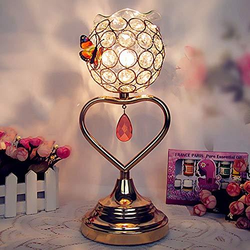 Ddgdg Schönheitssalon-Duftlampe, Schlafzimmer-Aromatherapie-Ätherisches Öl-Nachtlicht-Romantisches Einsteck Für Haus,Heart.Shaped -