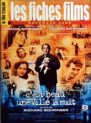 FILM FRANCAIS (LE) du 01/11/2006 - LES FICHES FILMS -