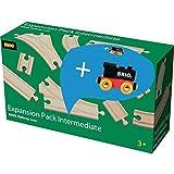 Brio 33804 Mittleres Schienensortiment Promo Pack Railway-RW Tracks