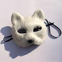 Decoraciones De Halloween Fox Gato Máscara De La Máscara ...