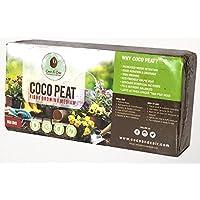 Coco&Coir. Fibra de Coco de 650 g (9L) orgánica. 100% Natural. Reutilizable. Brillos de Coco y cocodrilo de Calidad prémium.