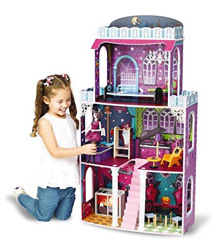 (riesengroßes Puppenhaus Spooky 118 x 62 x 28 cm passend für Monster High Barbie)