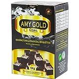 Amy Gold - Carbón natural para barbacoa, 1kg