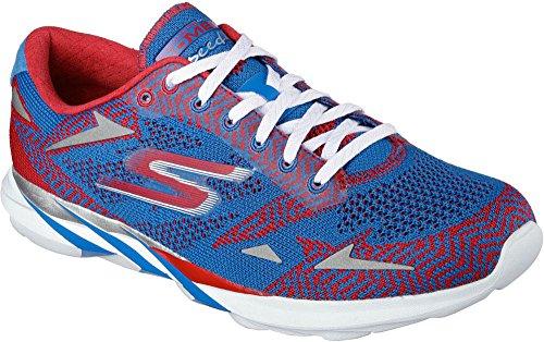 Skechers - Go Meb Speed 32016, Scarpe da corsa Uomo Blue/Red
