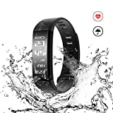 "Mpow Heart Rate Monitor Smart Fitness Bracelets Activity Pedometer Tracker""NEW"""