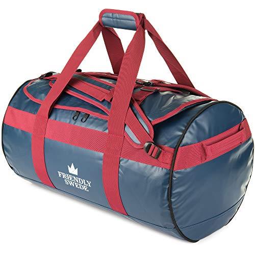 The Friendly Swede wasserfeste Reisetasche - Seesack, Duffle Bag