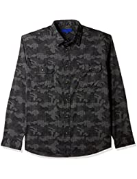 Aeropostale Men's Printed Regular Fit Casual Shirt