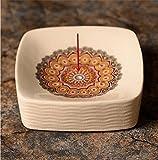 Bagno portasapone ceramica, Scarico design, Scatola di sapone dipinto a mano creativa, Decorazione della stanza da bagno, Artigianato scatola di sapone-D