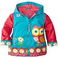 Stephen Joseph Owl SJ860176B45Rain Coat Size 110/116, Green