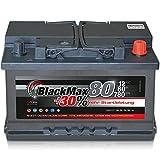 Autobatterie 80Ah +30% mehr Leistung Starterbatterie ersetzt 70Ah 72Ah 74Ah 75Ah
