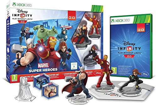 Disney Infinity 2.0: Marvel Super Heroes Starter-Set X360 [AT-PEGI]
