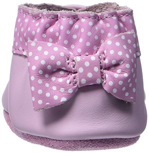 Robeez Unisex Baby Forget Me Not Krabbel-& Hausschuhe Pink (133)