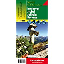Hiking Maps of the Austrian Alps: Innsbruck, Stubai, Sellrain, Brenner