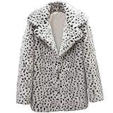 ALIKEEY Mujeres Casual Caliente Invierno Top Señoras Leopardo De Impresión Jersey Suéter Outwear...