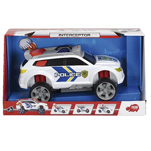 Dickie Toys 203308355 - Action Series Interceptor, Polizei-Monstertruck, 32 cm
