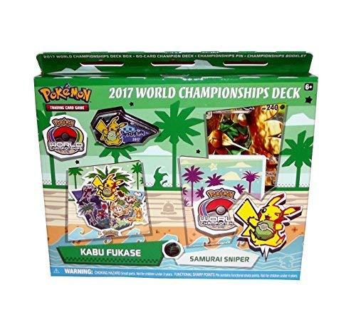 Pokemon Sammelkartenspiel 2017 World Championship Deck Set (Kabu Fukase\'s Samurai Sniper (Feat. Decidueye))