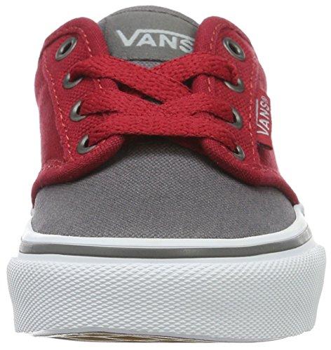 Vans  Yt Atwood, Sneakers Basses garçon Gris (2 Tone)