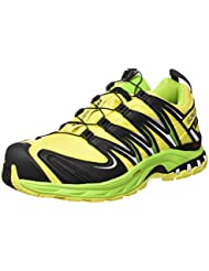 Salomon XA PRO 3D GTX Herren Traillaufschuhe, Amarillo (Corona Yellow / Granny Green / White), 42 EU