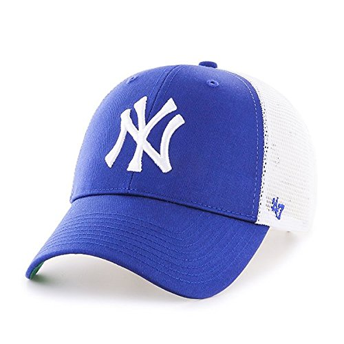 47Brand Erwachsene MLB New York Yankees Branson MVP Kappe, Royal, OSFA