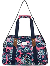 Roxy Sugar it up J PRHB mlj5 bolsa Duffle Mujer, rojo Red-Stripe _ 3