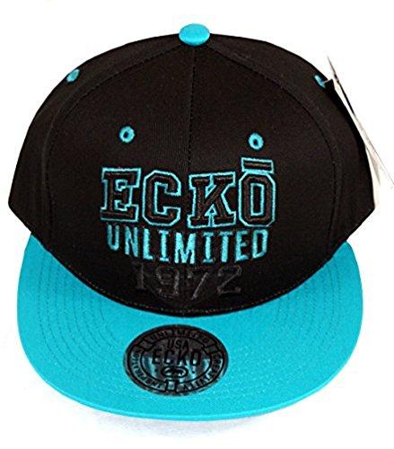 Ecko - Casquette de Baseball - Homme - Noir - Black & Peacock - Taille unique