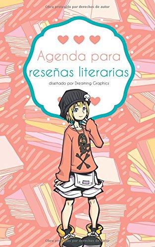 Agenda para reseñas literarias: interior en blanco y negro: Volume 2 (Agendas para blogueros)