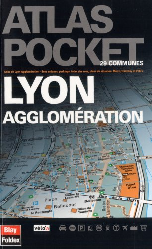 Atlas pocket Lyon agglomération