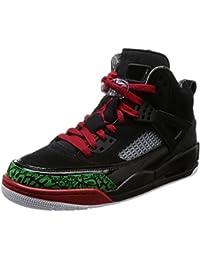 4aaed3000021 Nike Jordan Men s Jordan Spizike Black Varsity Red Basketball Shoe 9 Men US