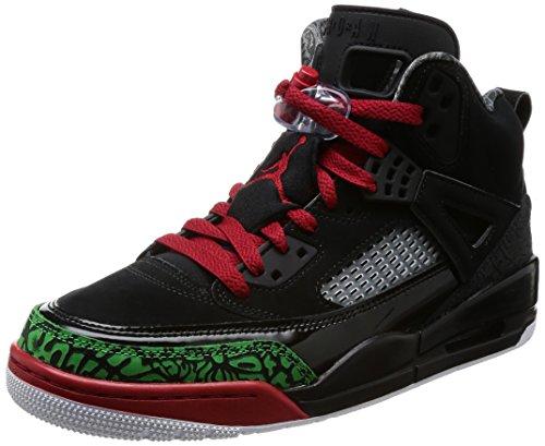Nike Herren Jordan Spizike Schwarz Leder/Synthetik Sneaker 42,5 (Schuhe Für Männer-nike Air Jordan)