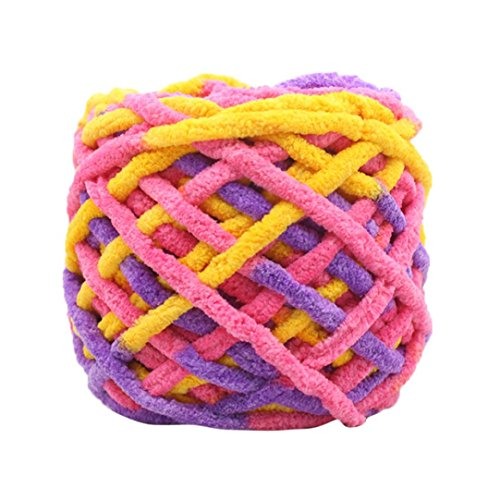 Wuayi Strickgarn / Handweb-Garn / Pullover-Strickgarn / Kammgarn, superweich, glatte natürliche Seidenwolle h -