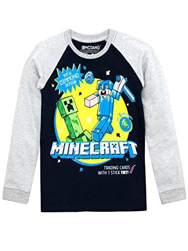 Minecraft Jungen Minecraft Langarmshirt 134