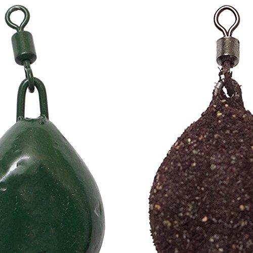 Fladen-Confezione da 25pezzi di pesca in bulk assortiti colori naturali