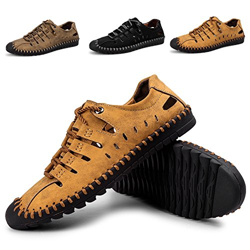 Zhshiny summer sandali sportivi uomo scarpe da acqua all'aperto per l'escursionismo sneaker traspirante ad asciugatura rapida taglia grossa