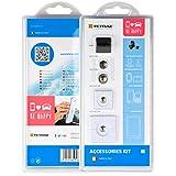 Tetrax T10900/W Kit Accessori, Clip e Xvent, Bianco - Tetrax - amazon.it