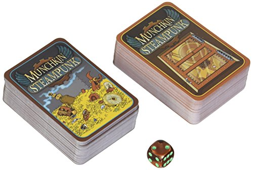 Steve Jackson Games sjg01531-Tarjeta Juegos, Munchkin Steam Punk, edición Inglesa