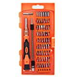 #4: Laprite 58 in 1 with 54 Bit Magnetic Driver Kit, Precision Screwdriver Set Cell Phone, Tablet, PC, Macbook, Electronics Repair Tool Kit ( 58 IN 1 Platinum Suit )