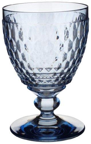 Villeroy & Boch Boston Coloured Rotweinglas Blue, 310 ml, Kristallglas, Blau
