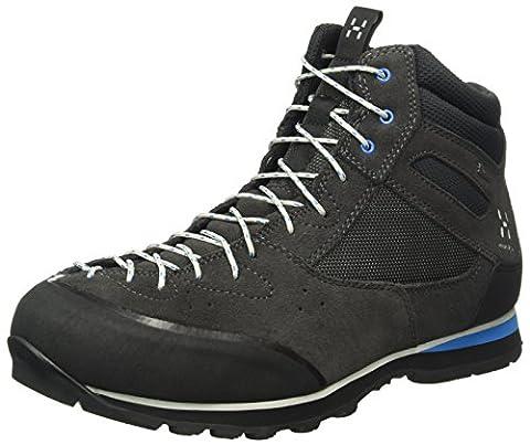 Haglöfs Men's Roc Icon Hi Low Rise Hiking Shoes, Blue (Magnetite/Vibrant Blue), 10 UK