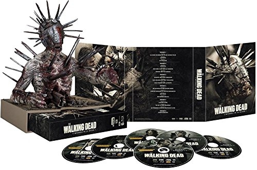 "The Walking Dead Saison 7 Blu-Ray Collector [Édition ultime limitée Blu-ray + Zombie ""Spiked Walker""]"