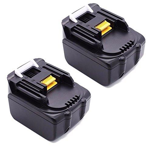 Preisvergleich Produktbild 2 Stück 14.4V 3.0Ah Werkzeug Akku für BL1430 14,4V 3,0Ah BL1415 195444-8 Lithium-Ionen Ersetzen Battery Hochleistung LG Zellen