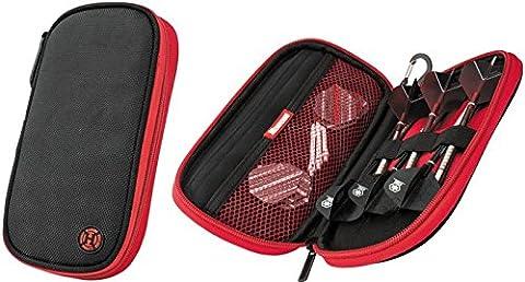 HARROWS Z400 RED BLACK DARTS CASE by PerfectDarts
