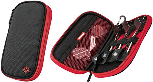 HARROWS Z400 RED BLACK DARTS CASE by PerfectDarts PerfectDarts