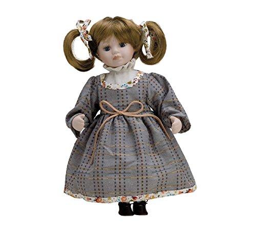 Muñeca de Porcelana de 30 cms con soporte. ARIEL - BAM020