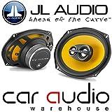 """JL Audio C1-690TX - 225 Watts 6""""x 9"""" C1 3 Way Car Door Speakers"""