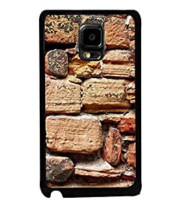 Printvisa Ultra Stone Wall 2D Hard Polycarbonate Designer Back Case Cover for Samsung Galaxy ...