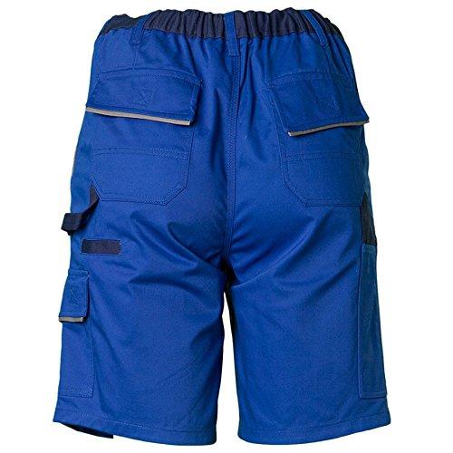 Planam Highline Shorts schiefer/schwarz kornblau/marine/zink