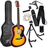 Best Guitar Strings For Beginners - 3rd Avenue Acoustic Guitar Premium Beginner Starter Pack Review