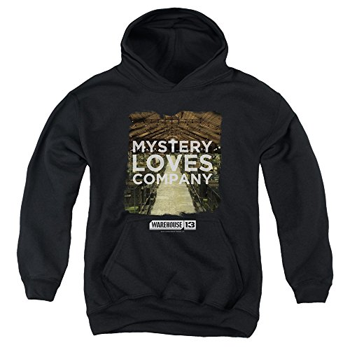 2Bhip Warehouse 13 Science Fiction Fantasy TV Mystery Loves Big Boys Pull-Over Hoodie