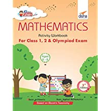 Perfect Genius Mathematics Activity Workbook for Class 1, 2 & Olympiad Exams